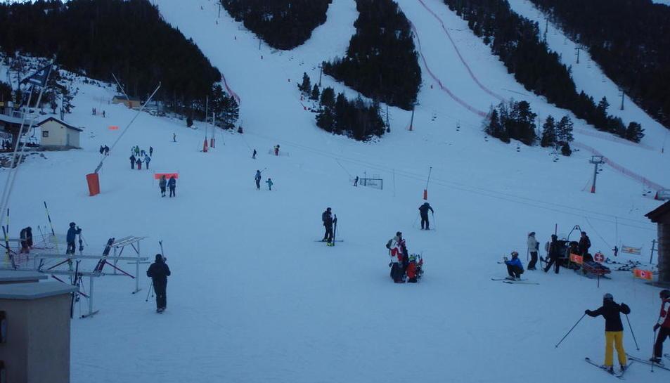 Imatge d'Espot Esquí presa dimarts passat.