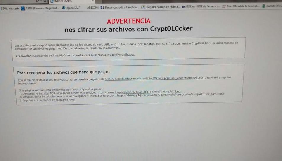Un nuevo secuestro informático paraliza más de una semana un ayuntamiento de Lleida