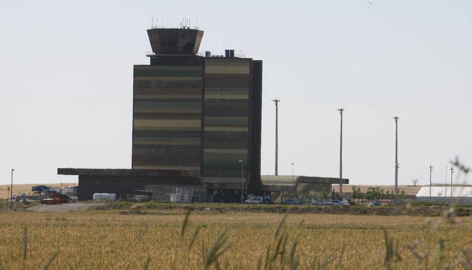Imatge d'arxiu de l'aeroport de Lleida-Alguaire.