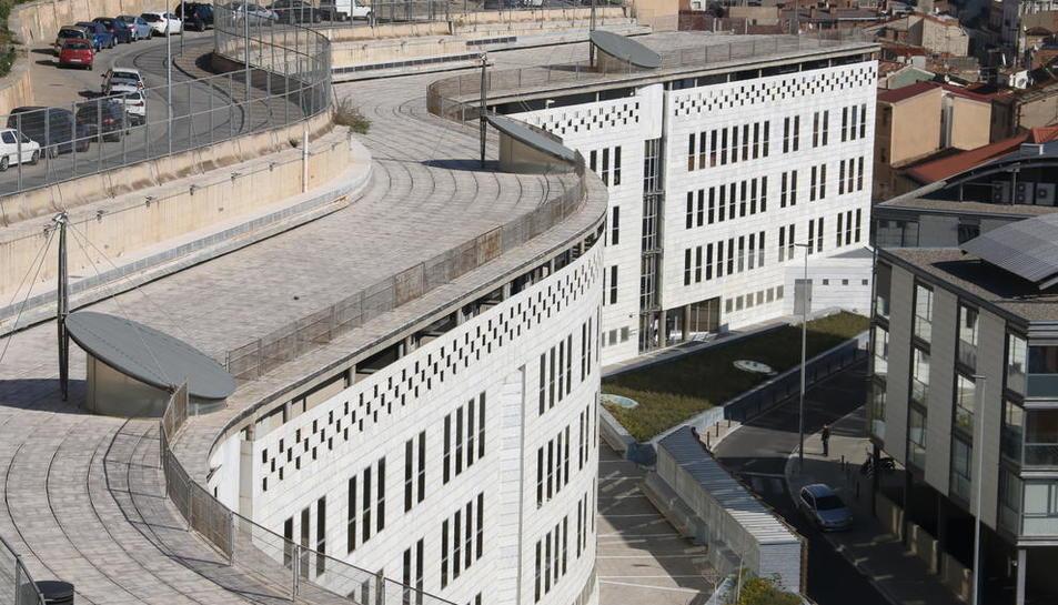 Imagen de los juzgados de Lleida.