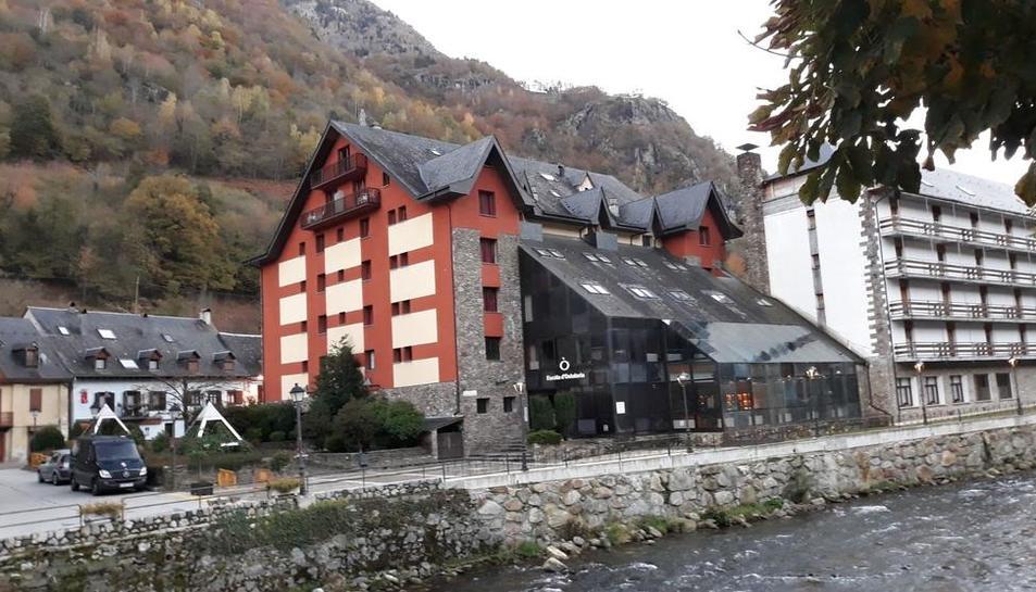 Imagen de la residencia de Les, que se usará parcialmente como alojamiento para trabajadores.