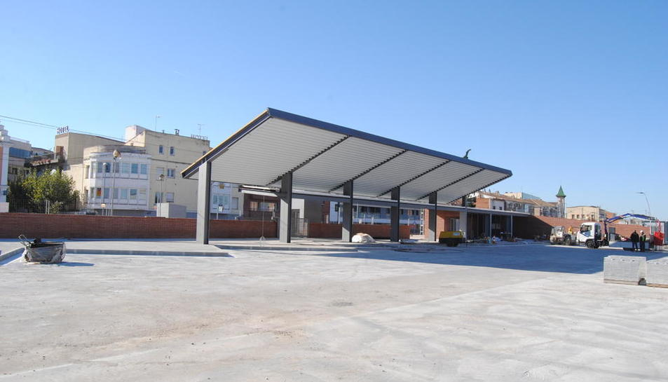 La nueva estación de buses de Mollerussa.