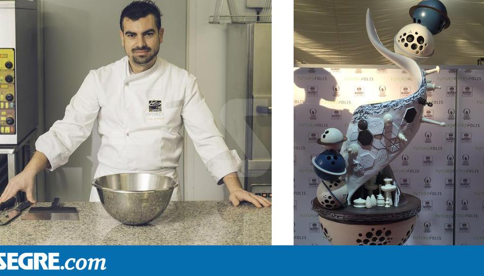 Ivan Pascual, d'Almenar, millor xocolater d'Espanya
