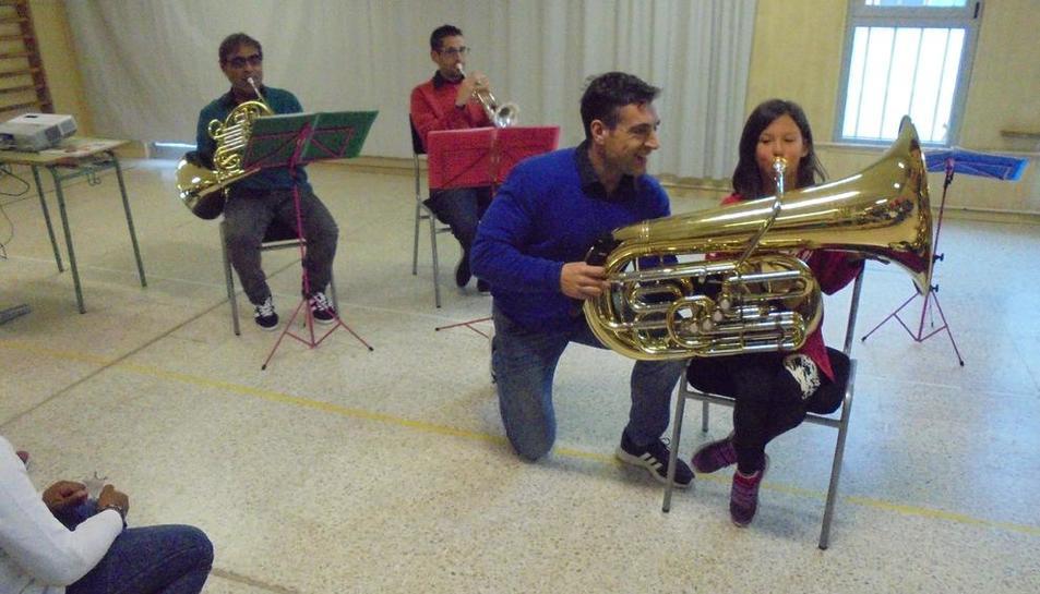 El Conservatori de Lleida celebró ayer en el Auditori Enric Granados la fiesta de Santa Cecília.