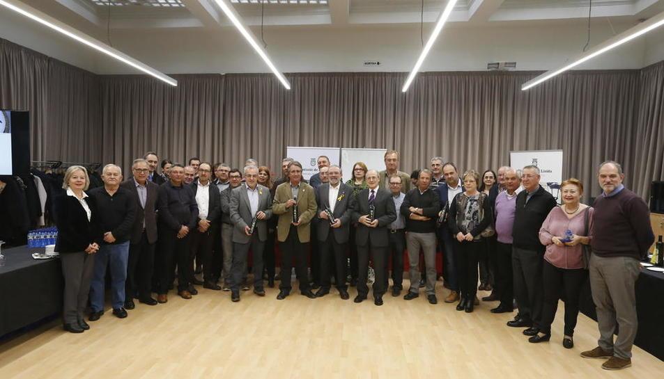 La DO Les Garrigues presentó ayer el aceite nuevo en un acto público en la Diputación.