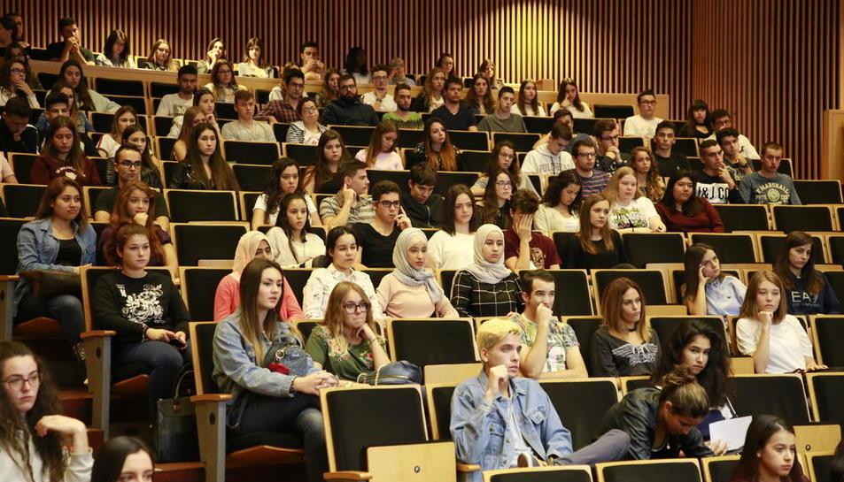 Jornada de benvinguda a nous alumnes de la UdL al setembre.