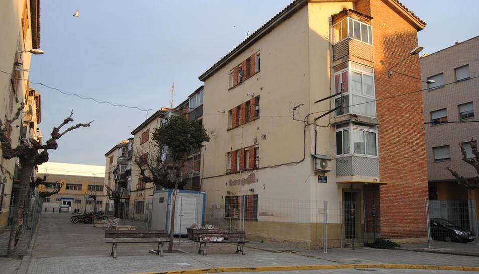Las viviendas del grupo han sido valladas para garantizar la seguridad de sus vecinos.