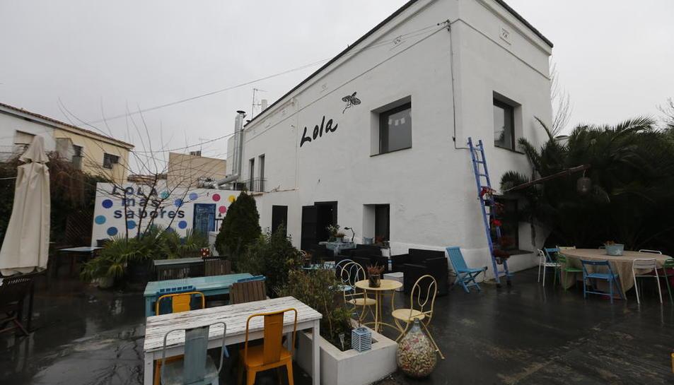 Imatge del xalet del restaurant Lola Más Sabores, adquirit pel Col·legi de Metges.