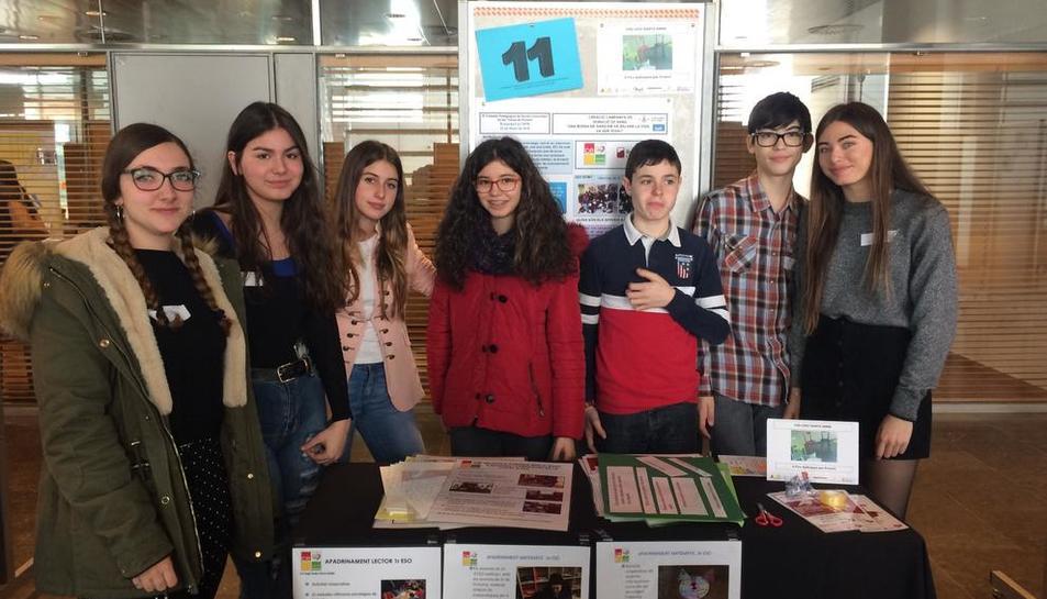 Alumnes del col·legi Santa Anna de Lleida han creat una campanya de donació de sang.