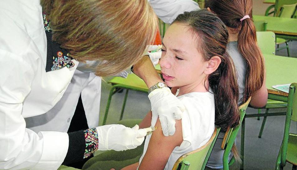 Imatge d'arxiu d'una campanya de vacunació a Lleida.