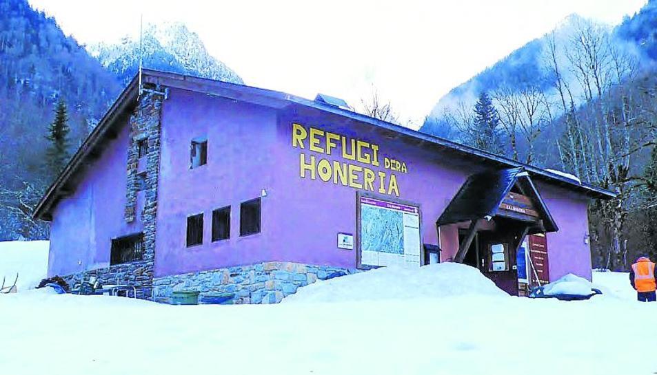 Imatge d'arxiu del refugi dera Honeria.