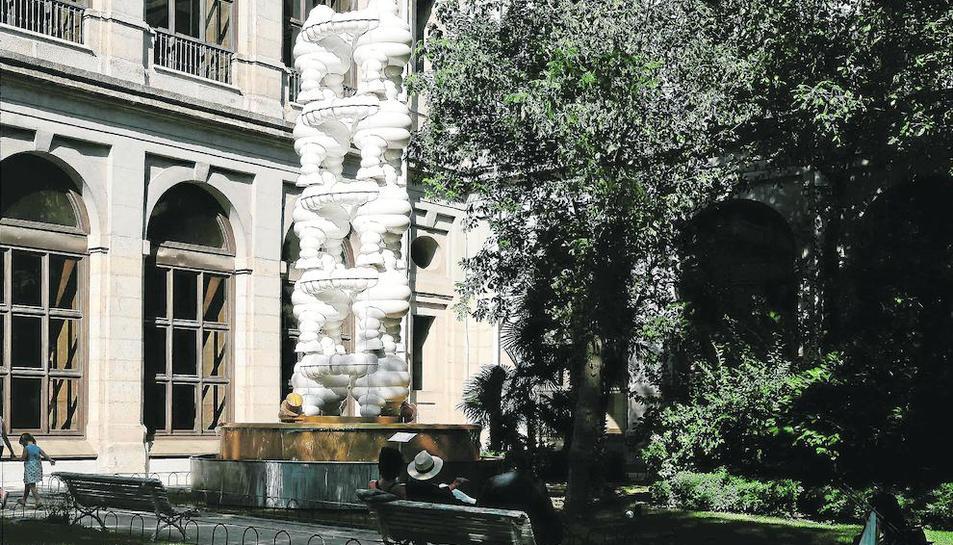 Imatge d'una de les obres de Pazos, 'Cupito..., ¿Y por qué no?'