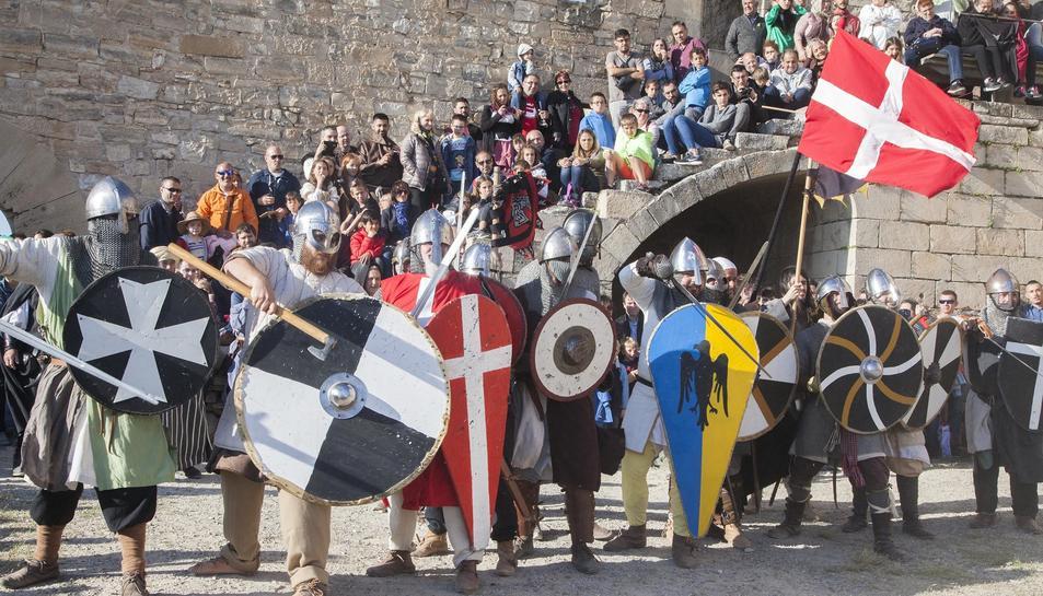 Ciutadilla reviu el passat medieval