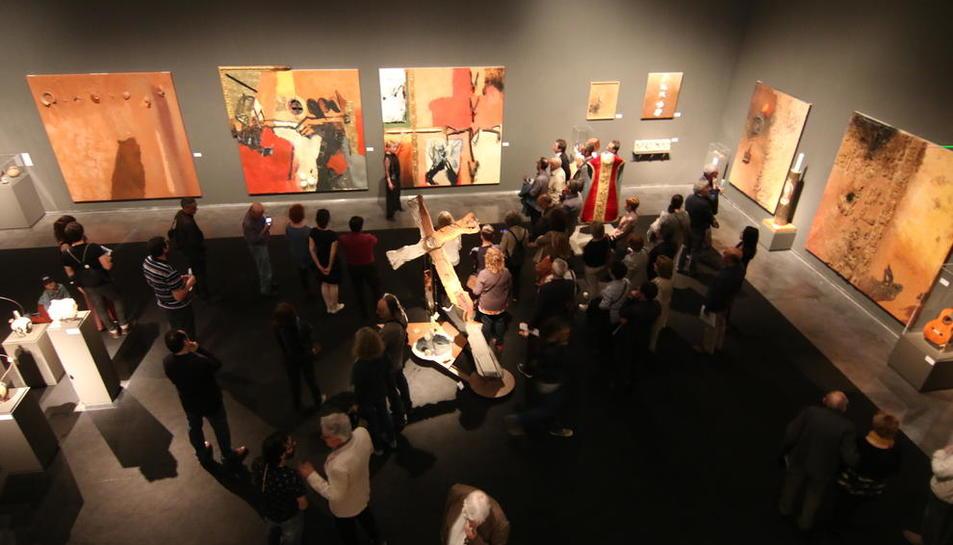 L'exposició 'Agramuntophitecus' podrà visitar-se al Museu de Lleida fins al 22 de juliol.