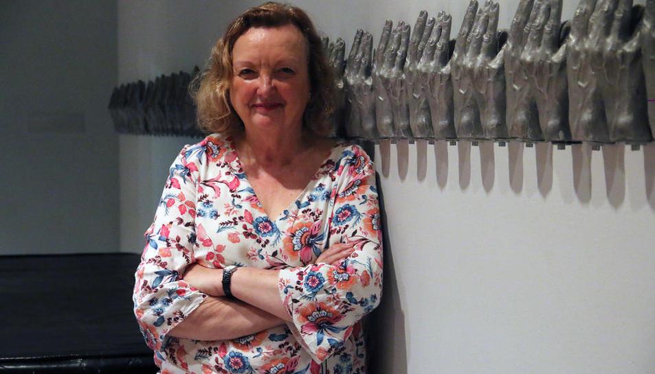 La doctora Carme Valls, ahir a l'Auditori, va ser una de les ponents a la jornada de Fibrolleida.