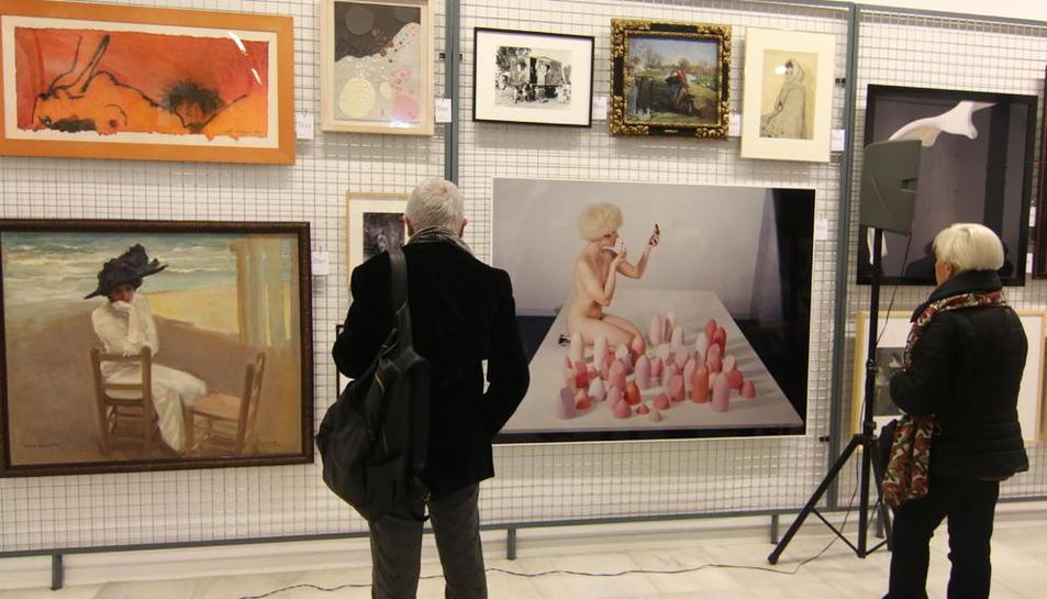 El Morera acoge actualmente la exposición 'Inventari general'.
