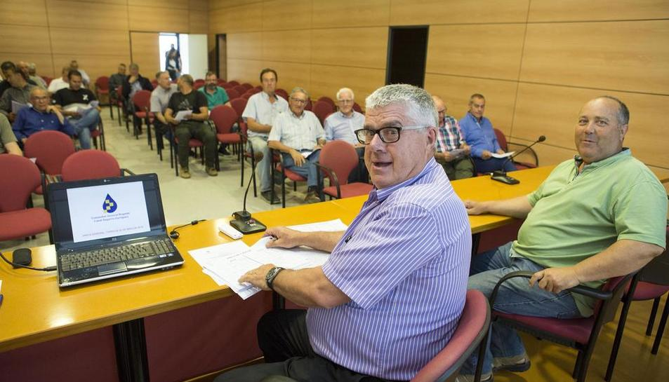 La comunitat de regants va celebrar ahir a Tàrrega la junta general ordinària.