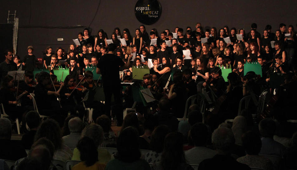 Concert diumenge de l'Escola Municipal de Música de Tàrrega.