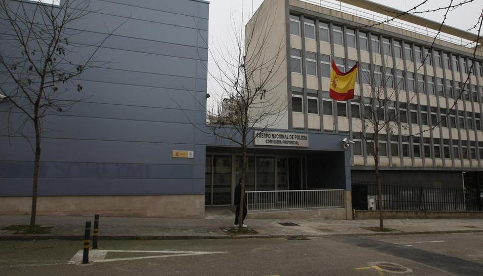 Imatge d'arxiu de la comissaria de la Policia Nacional a Lleida, que va portar la investigació.