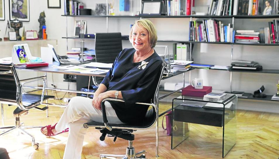 Imagen de archivo de la presidenta de Honor de la Academia de Cine Español, Yvonne Blake.