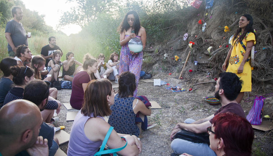 D'Jade ofreció ayer doble ensayo abierto de su propuesta por la vía verde del río Ondara.