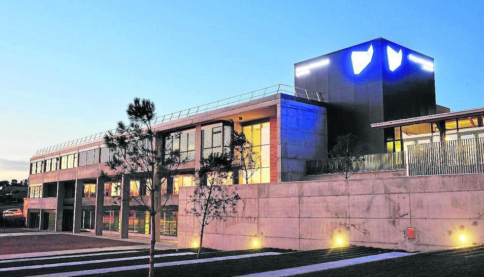 Imatge d'un dels edificis universitaris a Igualada.