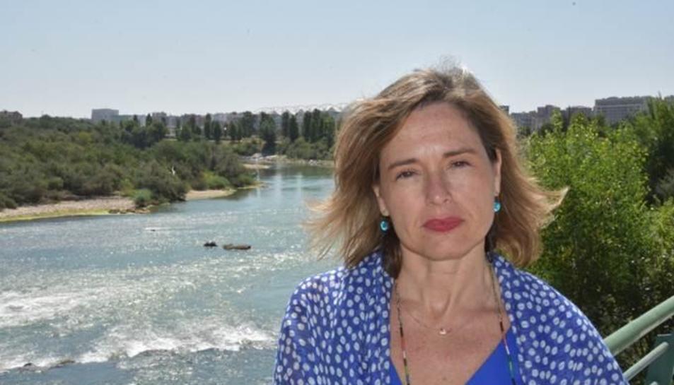 Imagen de María Dolores Pascual, nueva presidenta de la Confederación Hidrográfica del Ebro.