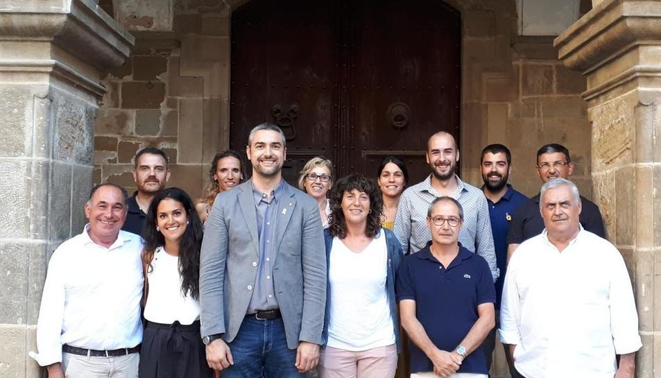 La consellera Teresa Jordà visitó el miércoles la localidad de Agramunt.