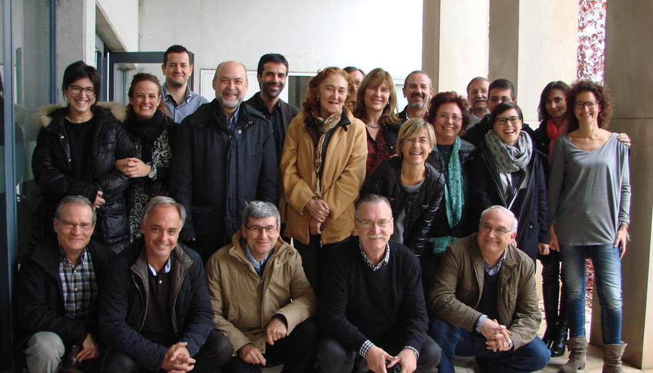 Imagen de los profesionales que participaron en el estudio.