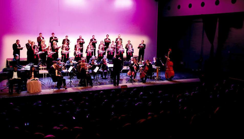 Imagen de archivo de un concierto en La Lira de Tremp.