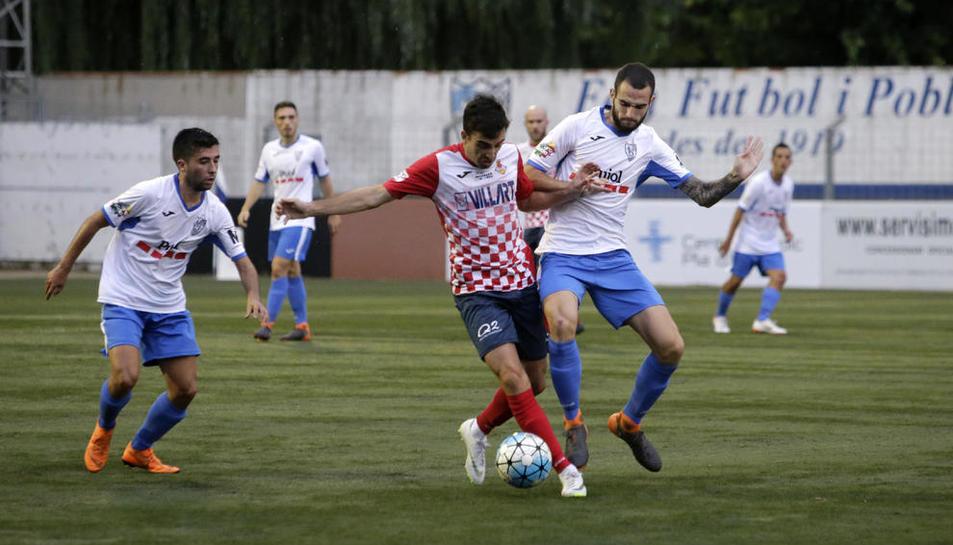 El Mollerussa va deixar a la cuneta un Balaguer que només ha marcat un gol en els dos partits.