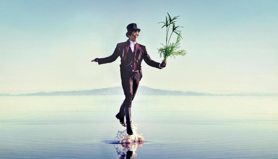 Imagen promocional de Guillem Roma y su hasta ahora último trabajo discográfico, 'Connexions'.
