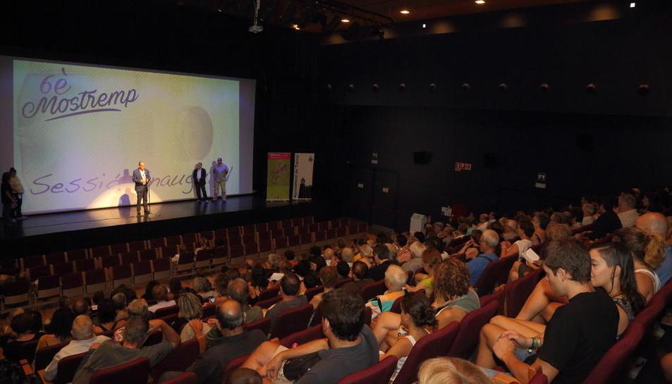 Inauguración del festival el año pasado en La Lira de Tremp.