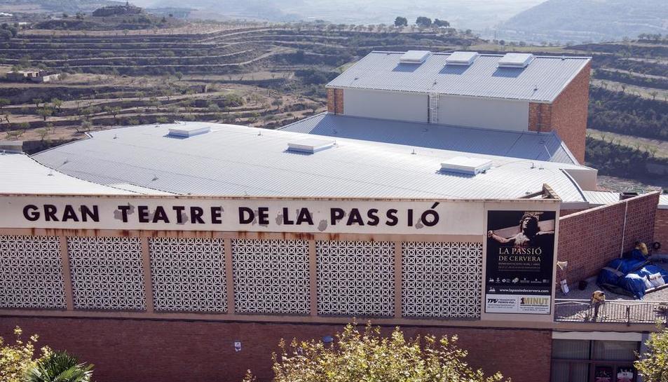 Imagen de archivo de El Gran Teatre de la Passió de Cervera.