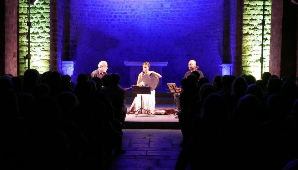 Trío de música medieval, el viernes en La Seu d'Urgell.