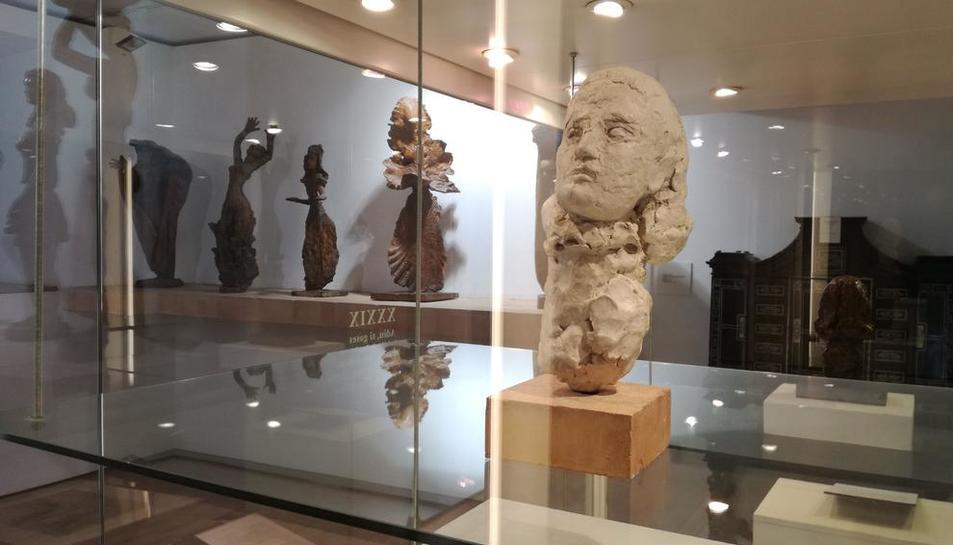 Bust de Dora Maar a la Fundació Apel·les Fenosa al Vendrell.