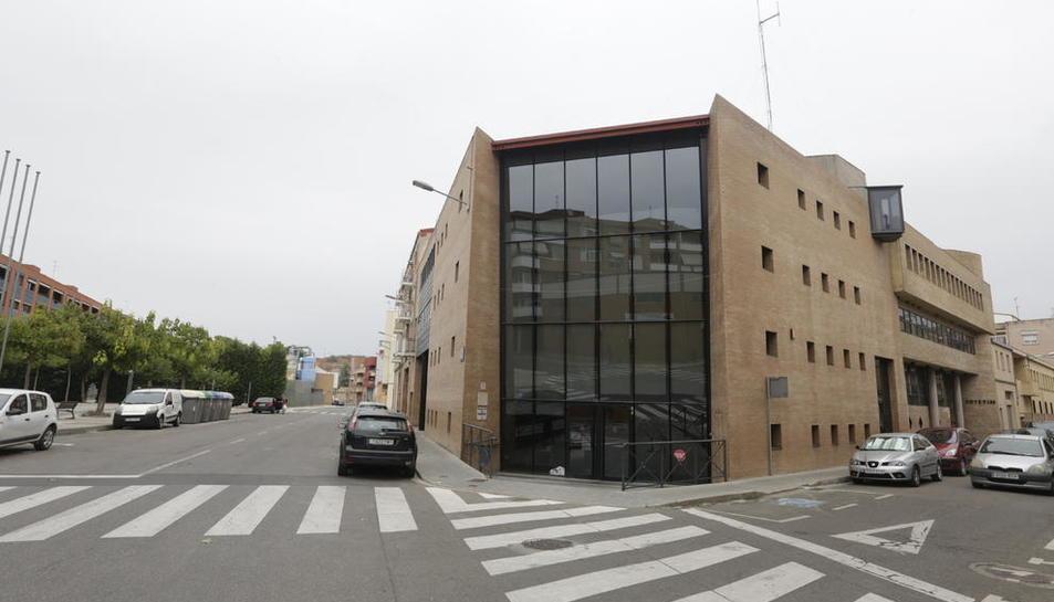 El centre cívic de Pardinyes, en el qual reclamen millores.