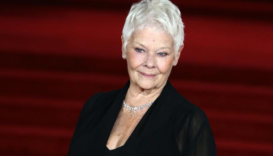 La gran dama del cine británico, Judi Dench.