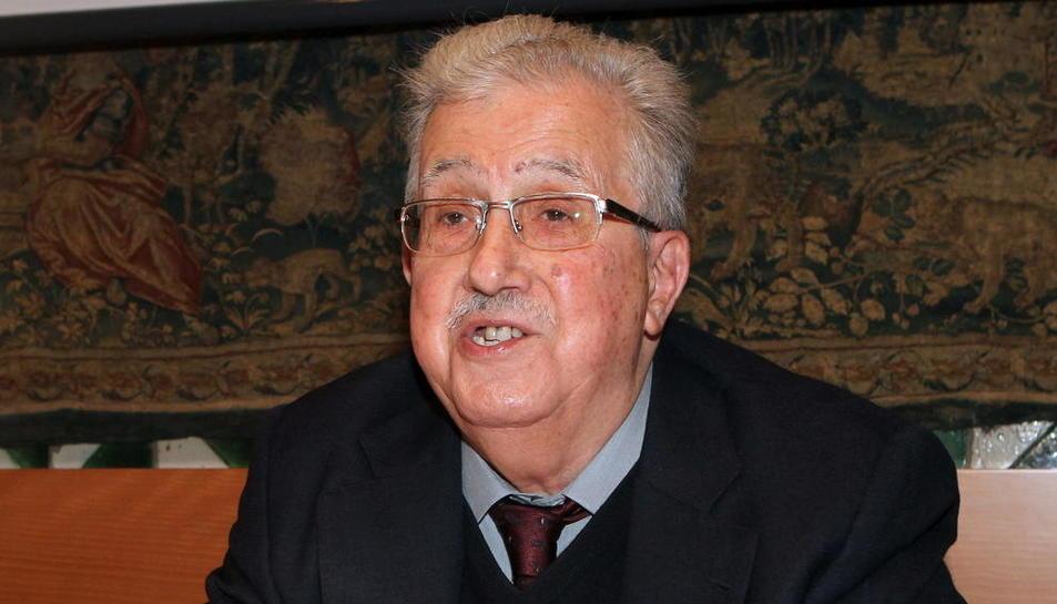 L'historiador Josep Fontana, en una imatge recent d'arxiu, va morir ahir als 86 anys.