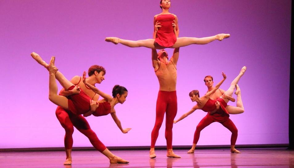 El Ballet de Catalunya, ayer en la presentación en el Liceu.