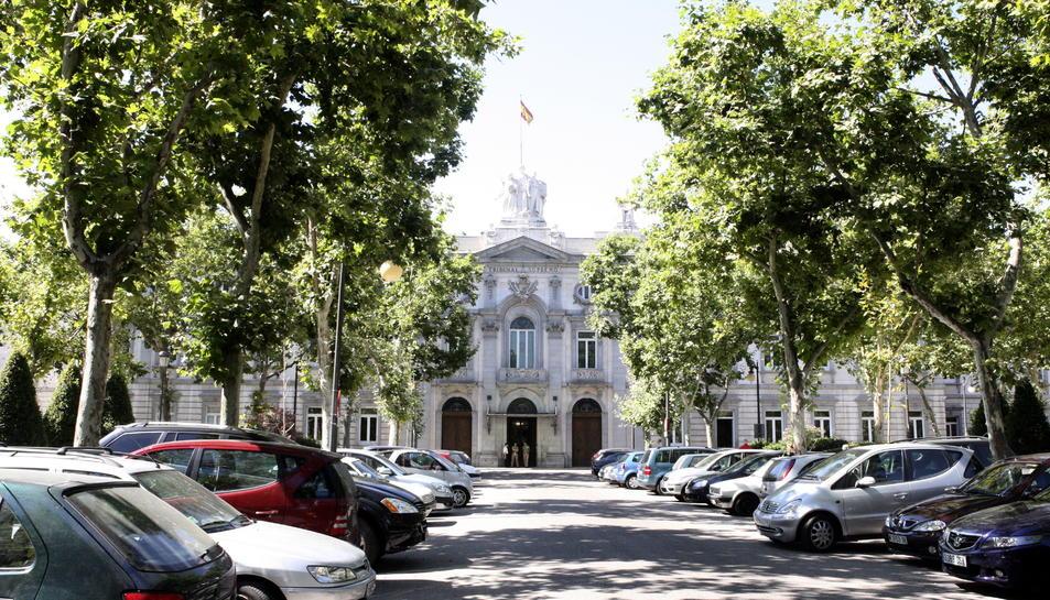 La façana principal del Tribunal Suprem