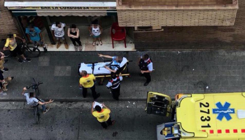 Imagen de archivo de una pelea en el bar La Cordobesa a finales del pasado mes de junio.