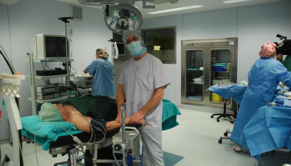 Imagen de archivo de un quirófano