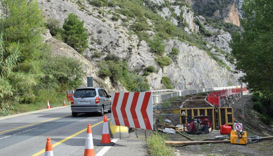La calçada s'ampliarà fins als 10 metres amb un mur a la zona propera al Segre.