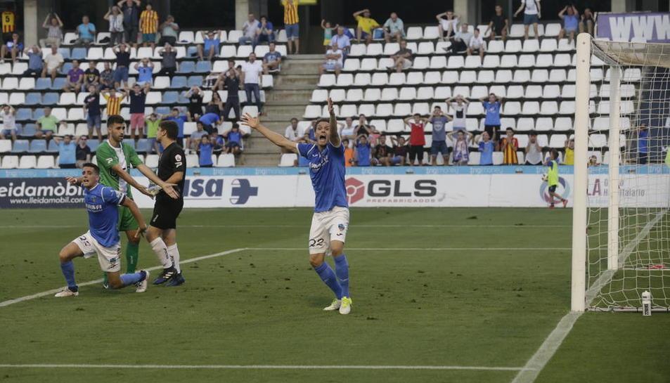 El Lleida cedeix un empat a casa davant del Cornellà (1-1)