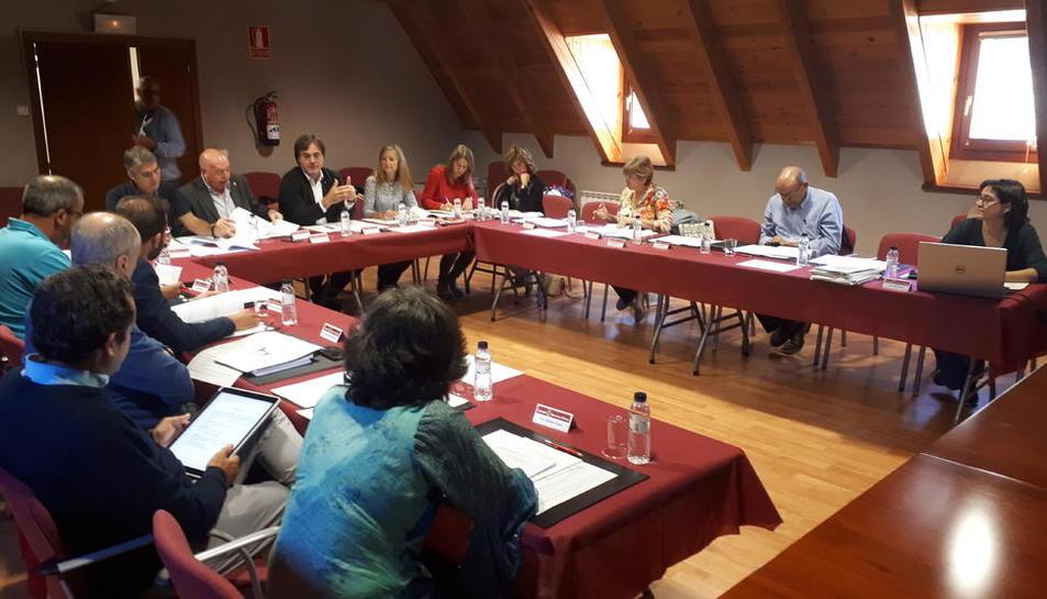 La reunió d'ahir de la comissió d'Urbanisme d'Aran.