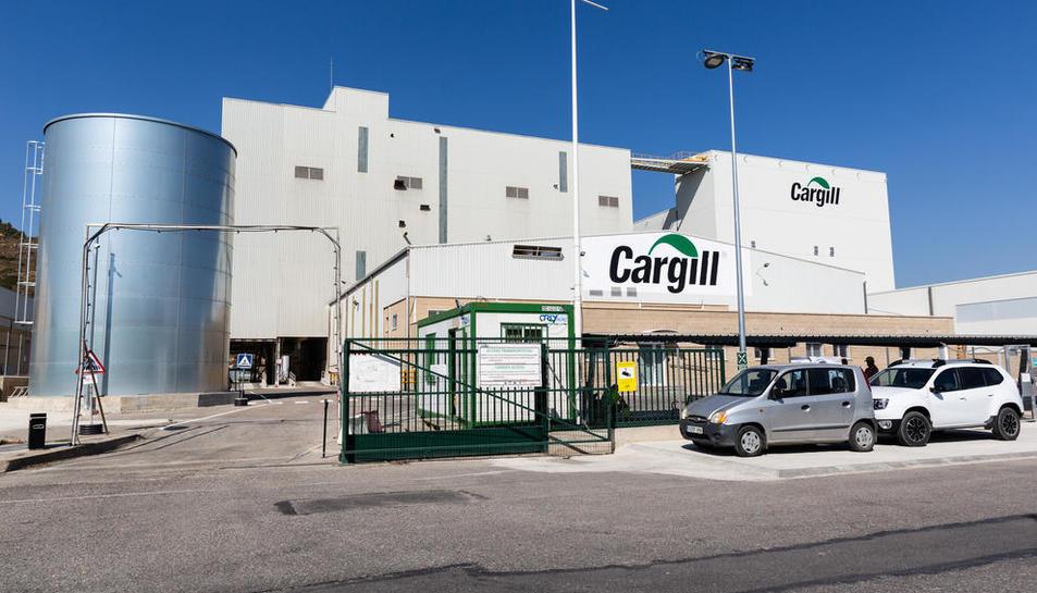 Imatge de la nova planta de nutrició animal de Cargill a Mequinensa.