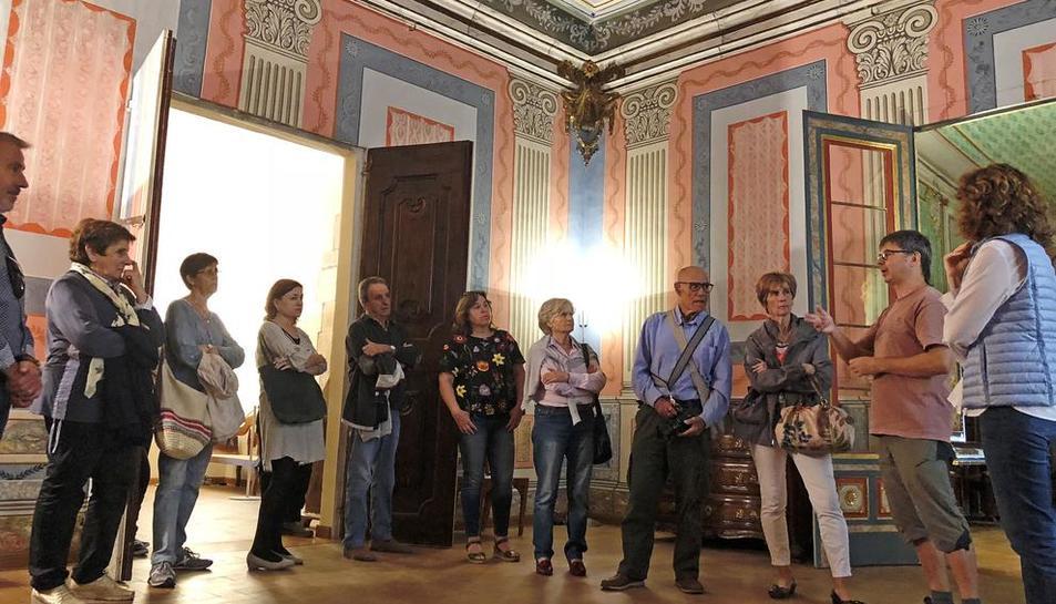 Recorrido por la Casa Solsona de Cervera y otras casas señoriales.