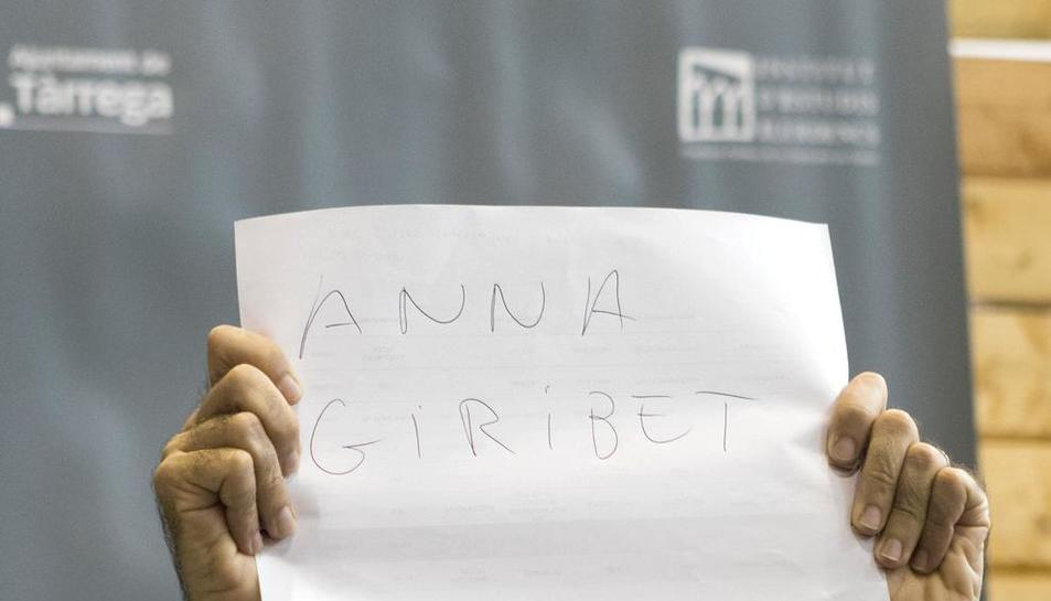 Anna Giribet.