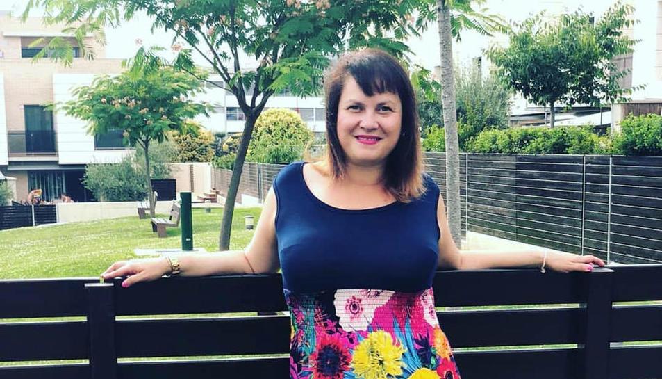 Marta Mesegué, finalista 'curvy' al càsting de la botiga Kiabi.